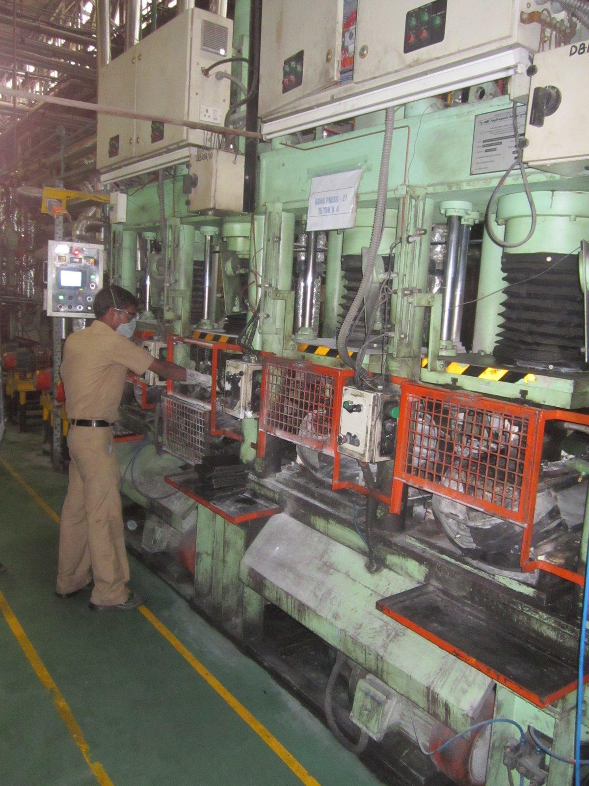 Manufacturing Sundaram Brake Linings Ltd